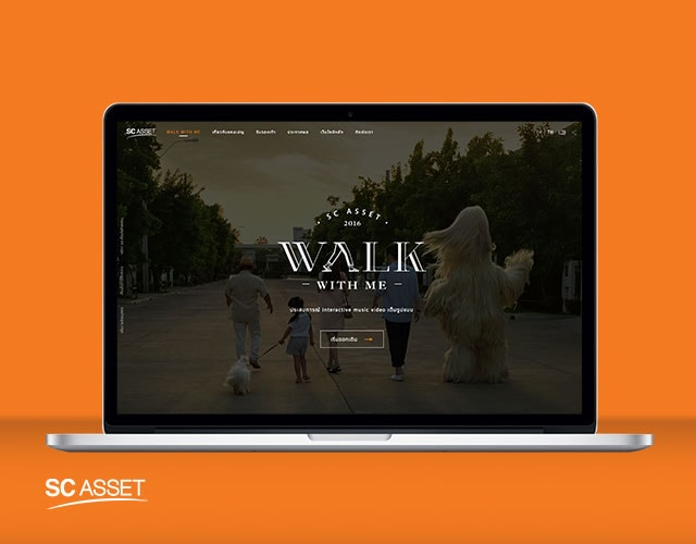 SC ASSET WALK WITH ME Digital NEX : Digital Agency in Thailand